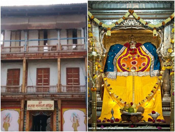 pune, throwback thursday, heritage, history, kasba ganpati, kasba peth, shivaji maharaj, jijabai, maratha empire, swarajya, ganpati, temple, culture, past, gram daivat