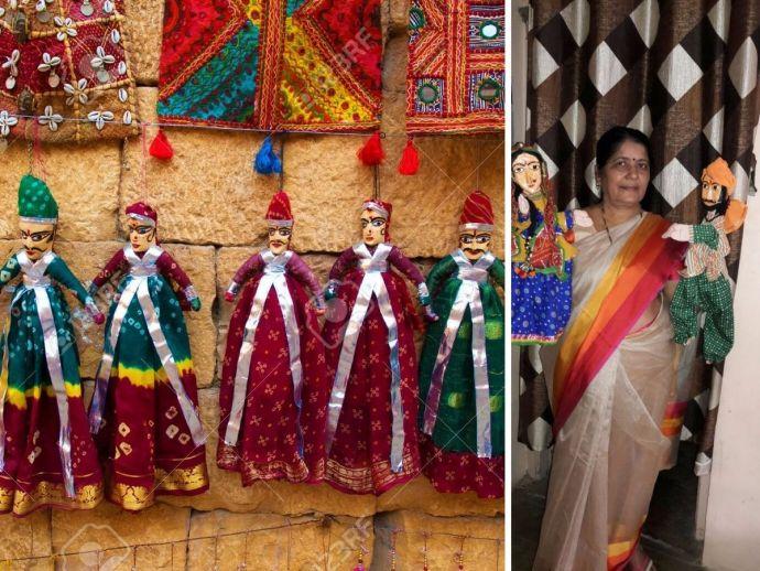 AIDS, Nutrition, Health Awareness, Jaishree Bharadwaj, Anganwadi Sevika Prashikshan Kendra, Tuberculosis, Puppeteer From Nagpur, Jaishree's puppet shows, Puppet Artist From Nagpur