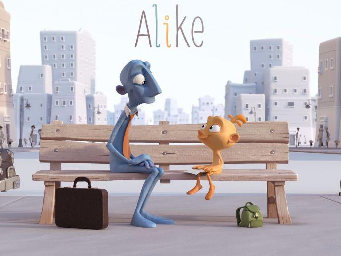 Gripping, Animated, Movie, 'Alike', Daniel Martinez Lara, Rafa Cano Mendez, Creativity, over