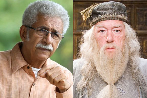headmaster of Hogwarts, Naseeruddin Shah for the role of Dumbledore, Naseeruddin Shah, Role For Dumbledore, Dumbledore's character, Harry Potter, Richard Harris, Michael Gambon