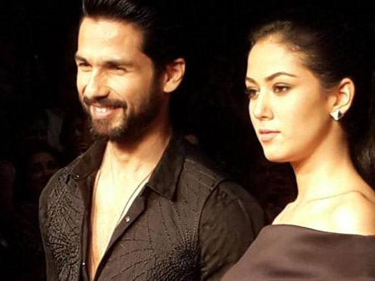 Shahid Kapoor, Moment Of Love, Mira, Shahid's Wife, Shahid And Mira On First Anniversary
