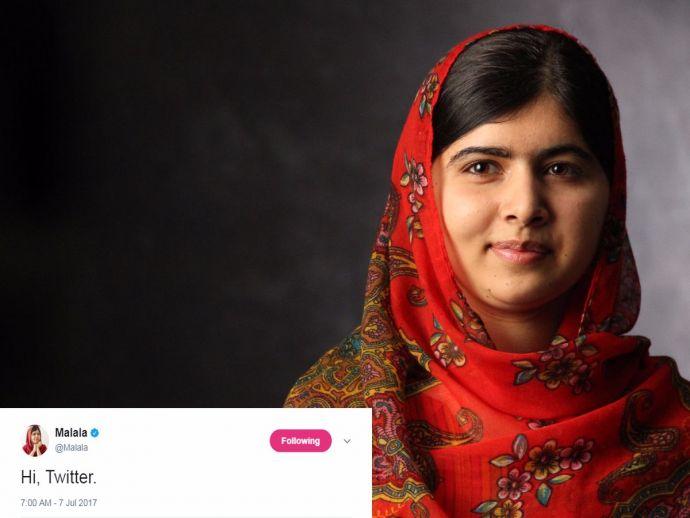Twitter, Malala Yousafzai Twitter, Malala Yousafzai, Malala Fund, Justin Trudeau, Bill Gates
