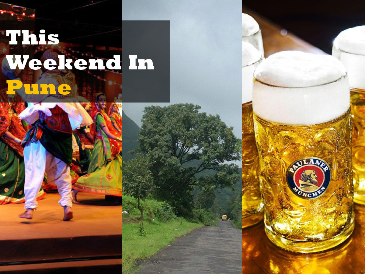 Pune, Weekend, Things to do, Oktoberfest, Navratri, Trekking, Movies