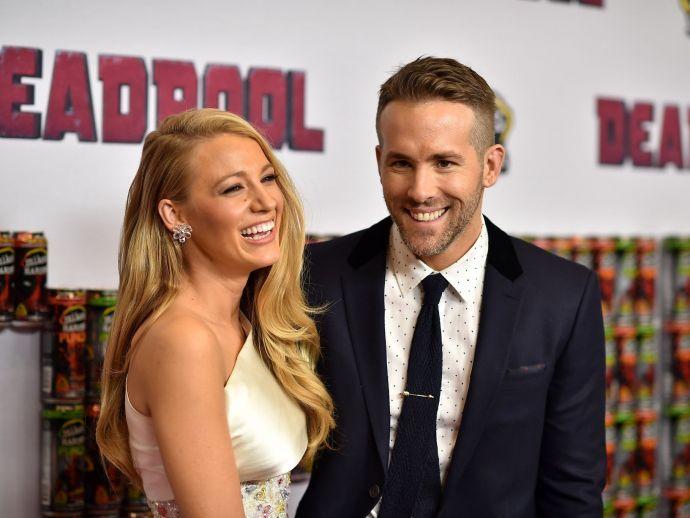 Blake Lively, Ryan Reynolds, husband, wife, potshots, digs, The Rhythem Section, movie, Ireland, deglam, role