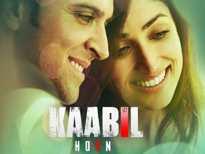 Hrithik Roshan, Yami Gautam, Kaabil Hoon, Kaabil, movie, song, bollywood, entertainment
