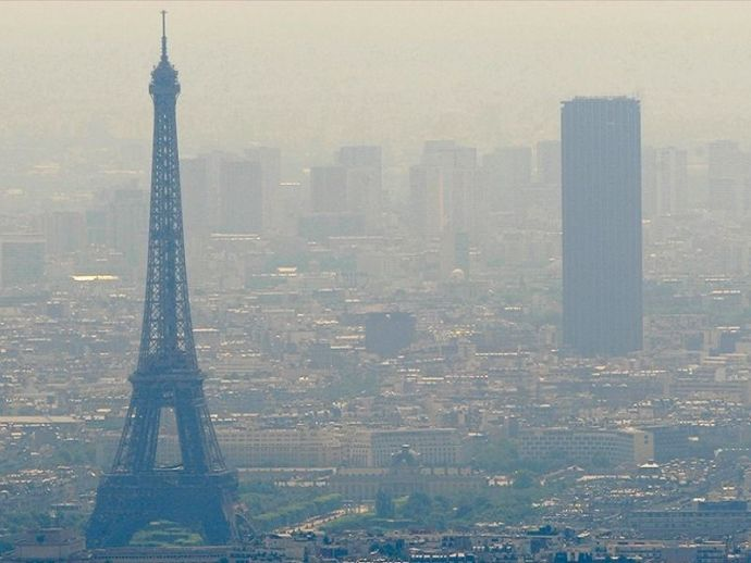 Paris, France, India, pollution, Lyon, Villeurbanne, Delhi, climate, airparif