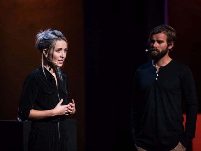 Thordis Elva, Tom Stranger, Rape, Iceland, TED Talks, TEDWomen, South of Forgiveness, reconciliation