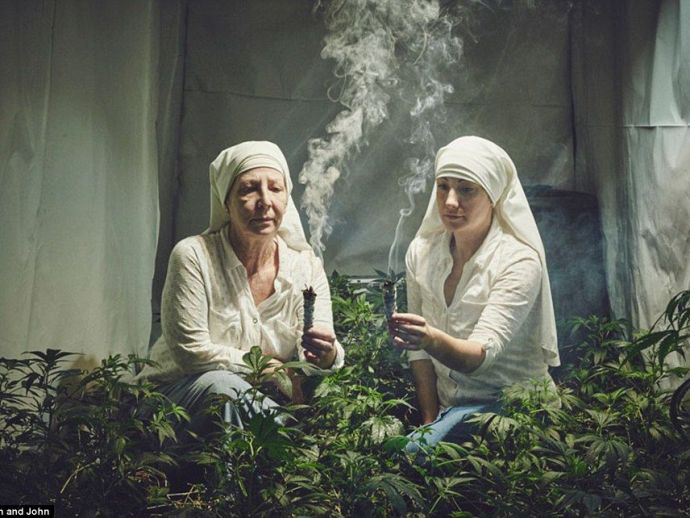 Weed, Nuns, Cannabis, California, The Sisters Valley, Sister Kate, marijuana, Merced, Cannabis Convent