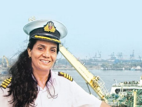 First Women Indian Captain, Women Indian Captain, Exceptional Bravery At Sea, Gallantry Awards, Bravery At Sea, Radhika Menon, International Maritime Organisation, Indian Navy, Durgamma