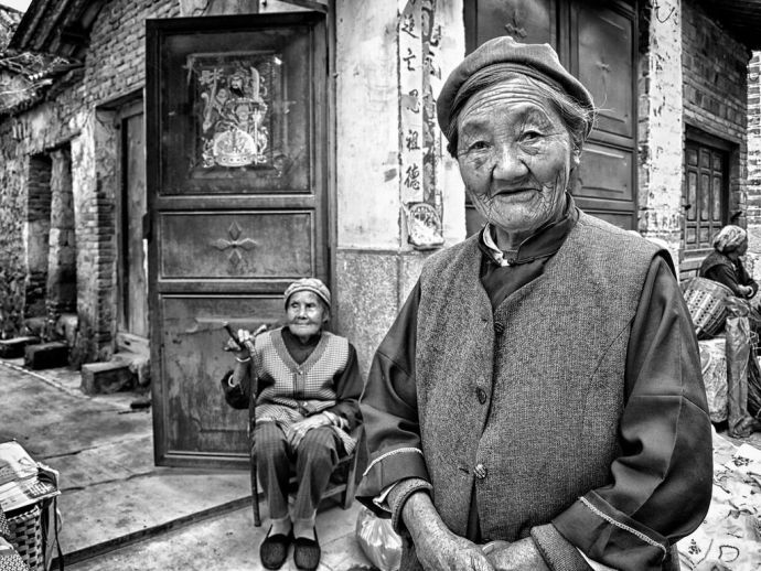China, yuan, debt collector, thug, HIV, debt, recovery, granny, old, women, patients