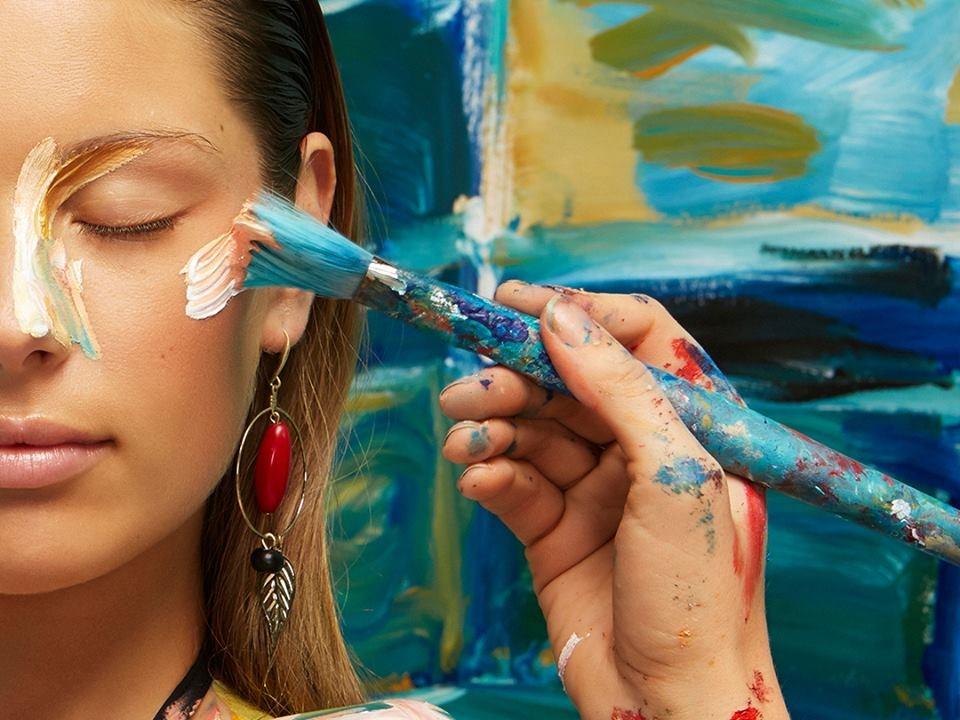 Alexa Meade, Artist, Canvas, Painting, Photographs, live portraits