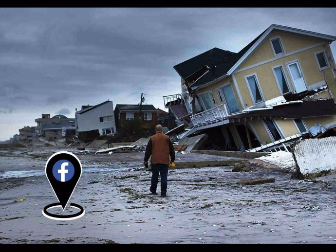 Facebook, Disaster Maps, NDMA, National Disaster Management Authority, Crisis, Disaster Management