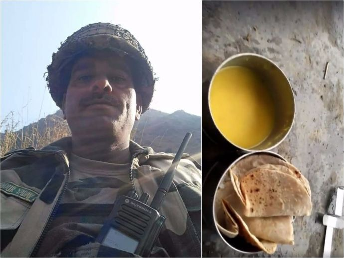 BSF Jawan, video, survivor, food, Tej Bahadur Yadav