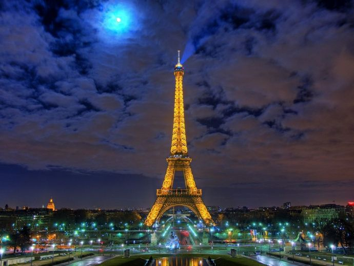 eiffel tower, paris, france, terrorism, jihad, glass, bulletproof, euro football tournament