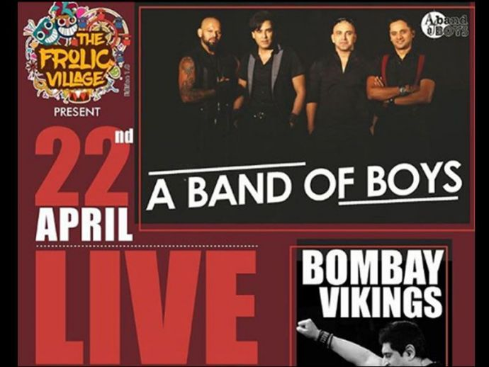 Pune, Event, 'A Band Of Boys' & 'Bombay Vikings' Live Performance