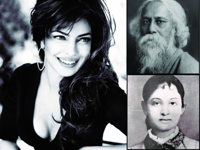 priyanka chopra, rabindranath tagore, annapurna turkhud, love story, film, nalini, ana littledale, the myriad minded man, krishna dutta, andrew robinson, bengali, marathi, Tagore's First Love Story, Tagore's Nalini, Purple Pebble Pictures (PPP), Dr Madhu Chopra, Pandurang Turkhud, Annapurna (Ana), Satyendranath Tagore