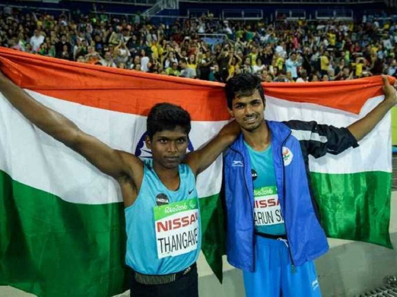 India, Indian Champions, Paralympics, India At Paralympics, Glory For India, Mariyappan Thangavelu, T-42, Sam Grewe, Gold Medal, Silver Medal, Paralympics 2016, Varun Singh Bhati