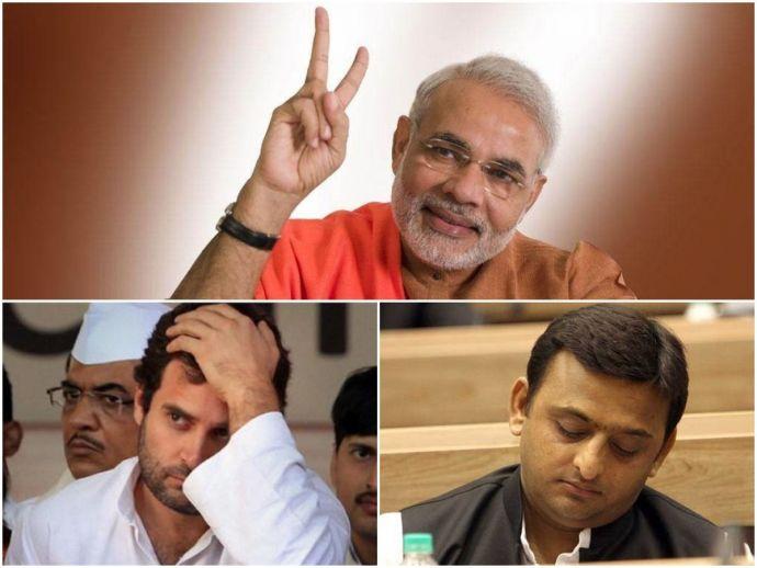 UP elections, Narendra Modi, BJP, Rahul Gandhi, Congress, Akhilesh Yadav, SP, BSP, Arvind Kejriwal
