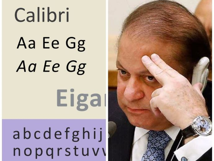 Pakistan, Prime, Minister, font, Panama, Papers, Calibri, Investigation, Typeface, documents