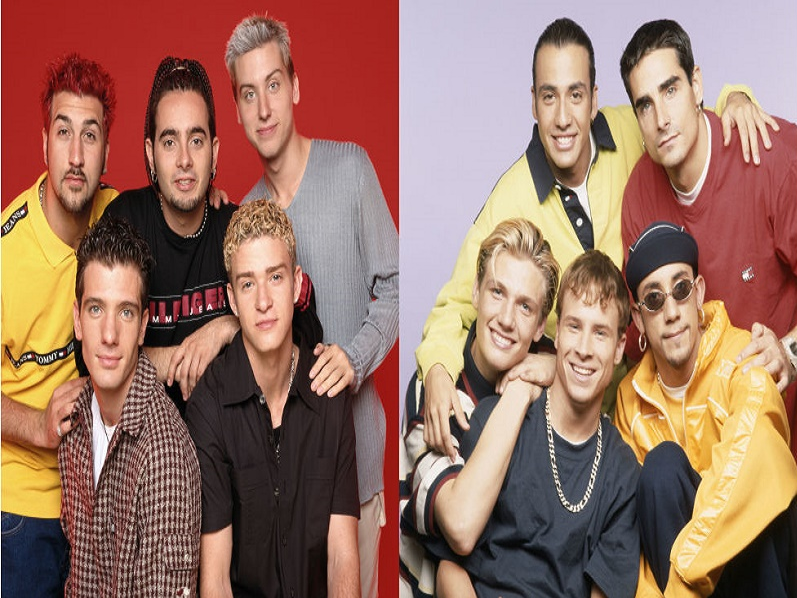 NSYNC, Backstreet Boys, Linkin Park, Jonas Brothers, Band of Boys, Spice Girls, Viva Girls, Aerosmith, Vengaboys