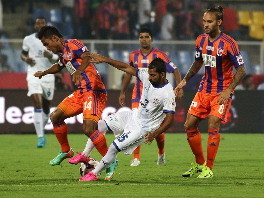 FC Pune City, Mumbai City FC, ISL, Football, Winner, Eugeneson Lyngdoh