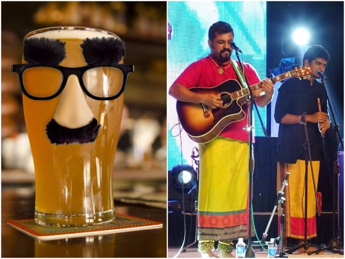 Amanora Town Centre, Pune, food, beer, german, ale, grub, music, band, Indian Ocean, The Raghu Dixit Project