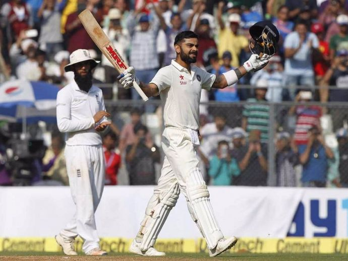 Virat Kohli, Double Hundred, India, England, Wankhede, Mumbai