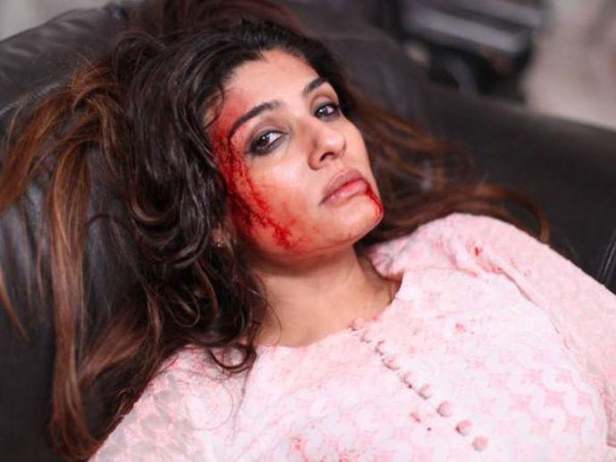 Raveena Tandon, the mother, crime thrill drama, first look, come back