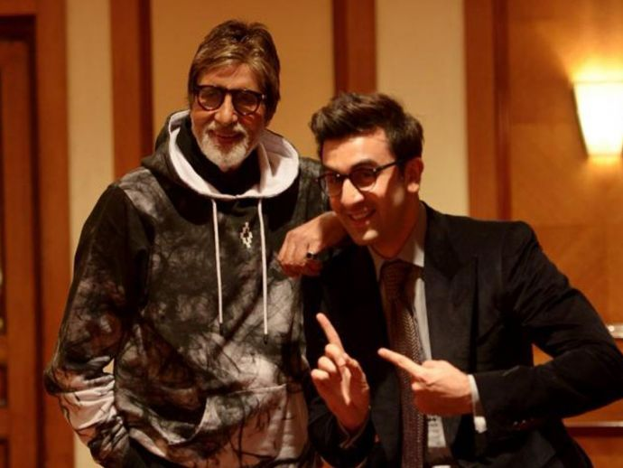 Amitabh Bachchan, Ranbir Kapoor, twitter, picture, throwback, alia bhatt, aamir khan