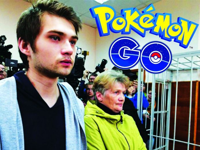 Pokemon Go, Ruslan Sokolovsky, Pokemon game in Church, Russian man behind the bars, Russian man played game in the church