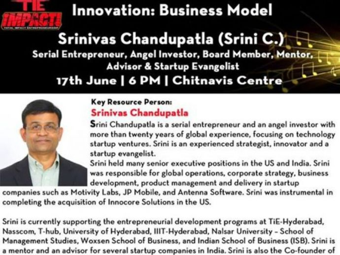 Nagpur, Events, Innovation: Business Model, with Mr. Srini C