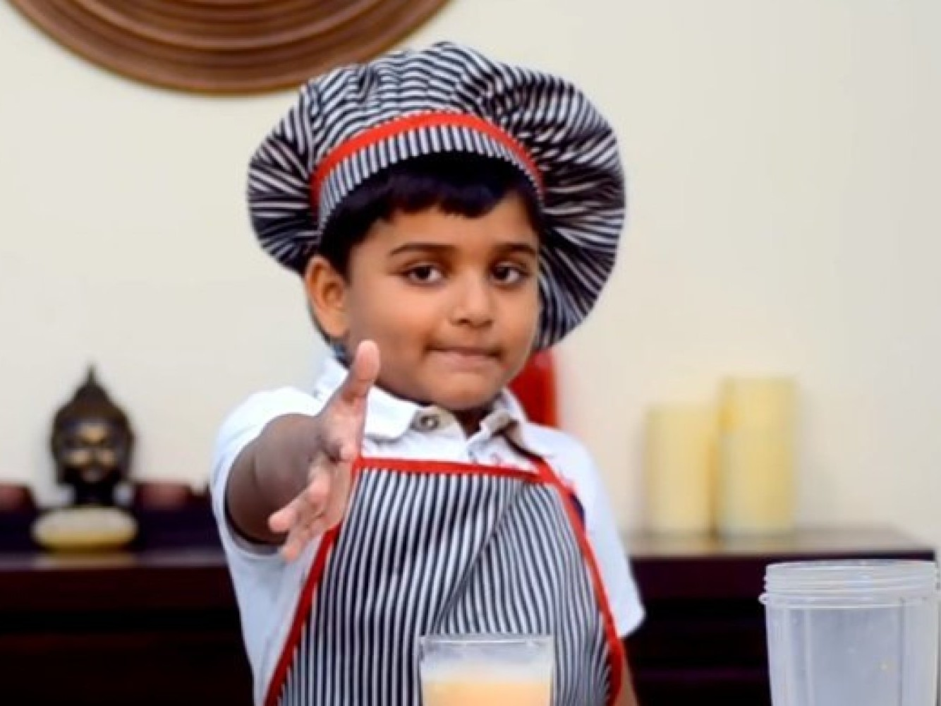 A 6 Year Old Kid, Kid Is Running His Own YouTube Channel, Kichatube, Little chef, Youngest Chef, Kicha