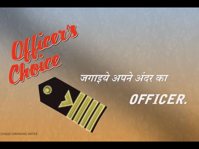 Officer's Choice, India, Whisky, beer, rum, vodka, Ruang Khao, Thailand, ISWR, top 100 spirit brands, OC, Allied Blenders & Distillers (ABD), Mumbai, Alastair Smith, Deepak Roy