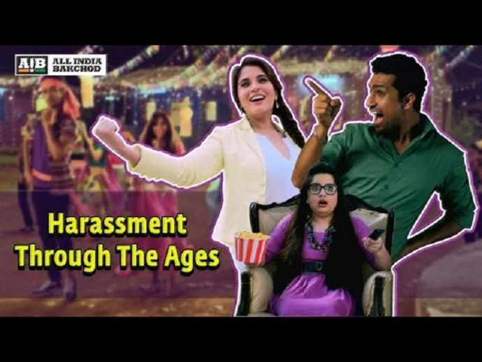 AIB, Harassment, funny, youtube, video, 'Harassment Through The Ages'
