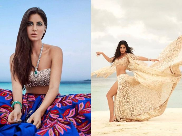 Katrina Kaif, Bridal Shoot, Maldives, Instagram, Manish Malhotra