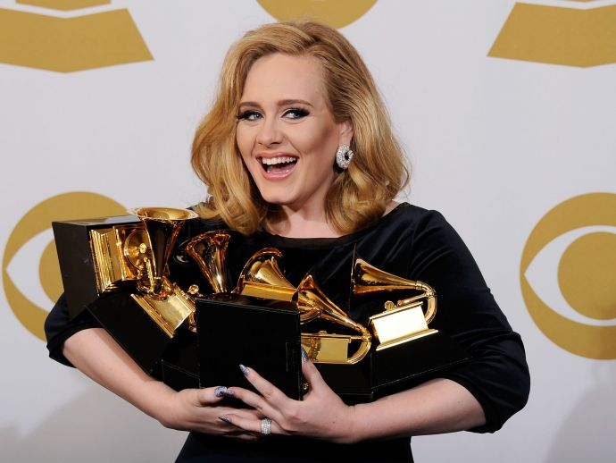 Adele, Grammys, George Michael, Hello, Fast Love, Tribute