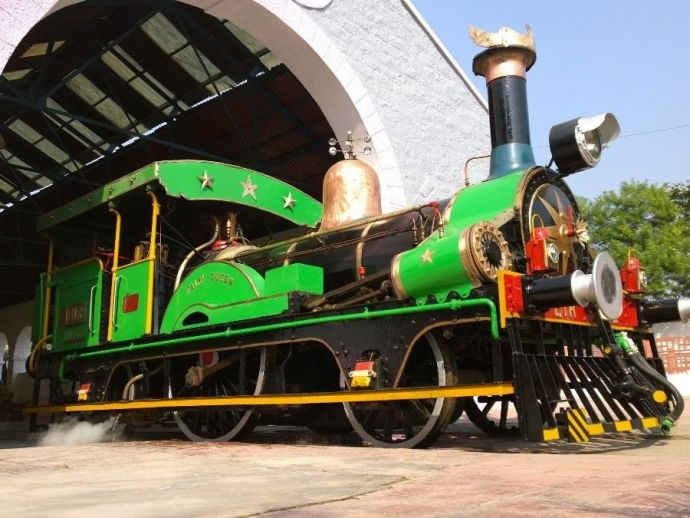 Fairy Queen, Steam Engine, World's Oldest, Track, Indian Heritage, National Rail Museum