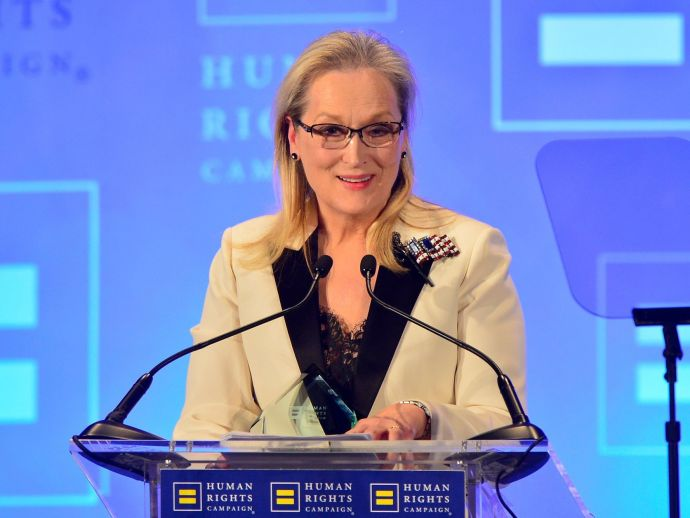 Meryl Streep, Trump, Globes speech, Golden Globe Cecil B. DeMille Award, The Ally for Equality Award, LGBTQ community