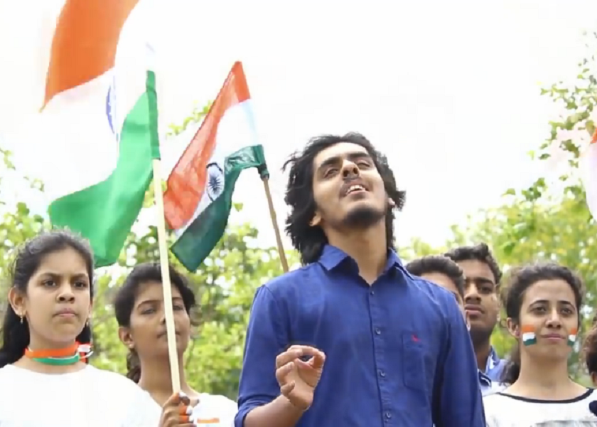 Abhishek Jhawar From Nagpur, An Upcoming Vocalist From Nagpur, Indianism, Celebrate Indianism