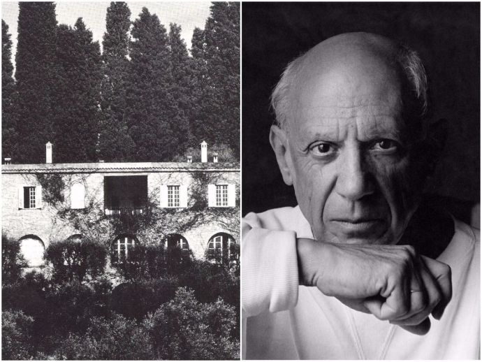 France, French Riviera, Pablo Picasso, Notre Dame De Vie, Picasso's mansion auctioned