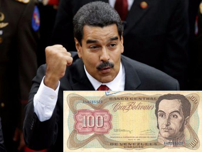 Venezuela, Bolivar, Demonetization, Nicolas Maduro