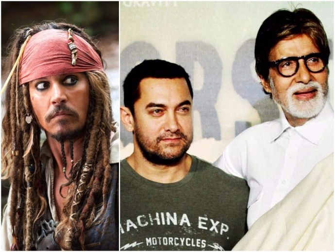 Aamir Khan, Amitabh Bachchan, Thugs Of Hindostan, Pirates Of Caribbean, Jack Sparrow
