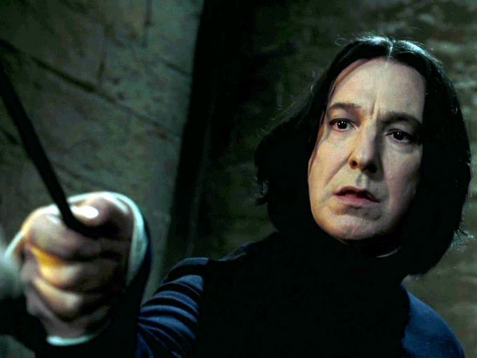 Alan Rickman, Alan Rickman, cancer, Harry Poter, 10 behind the scene photos, behind the scene