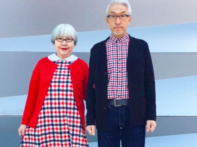 adorable Couple, Coordinated Outfits, Japanese Couple, Japanese, instagram, Japanese Couples in instagram