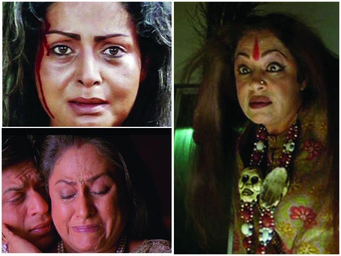 Karan Arjun, K3G, Dostana, Kuch kuch hota hai, Jaya Bachchan, Rakhi Gulzar, Farida Jalal, Kirron Kher, Bollywood mothers, Kal ho na ho, Funny mothers of Bollywood, himani shivpuri, sushma seth, reema