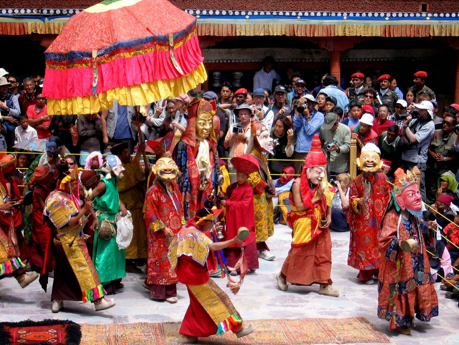 Hemis Festival, Leh, The Vibrant Celebration, Good over Evil, Leh Laddakh, The Ladakhi Hemis festival, Hemis Monastery at Leh