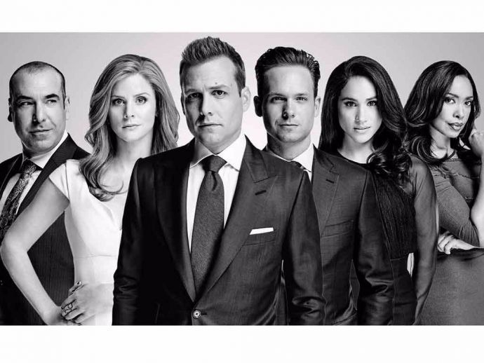suits, harvey, mike, donna, louis, rachel, aaron korsh, spoiler, alert