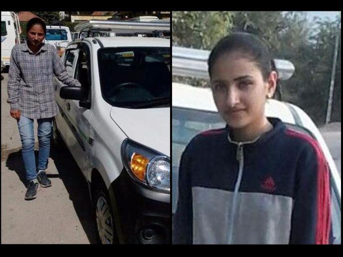 Ravina, Thakur, Female, Taxi Driver, Manali, Himachal's first female taxi driver