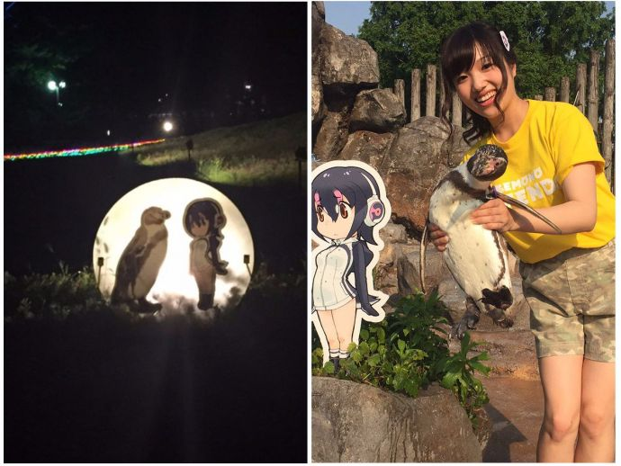 Penguine, Love story, Grape-kun, Japanese zoo, Japan, Hululu, Kemono Friends