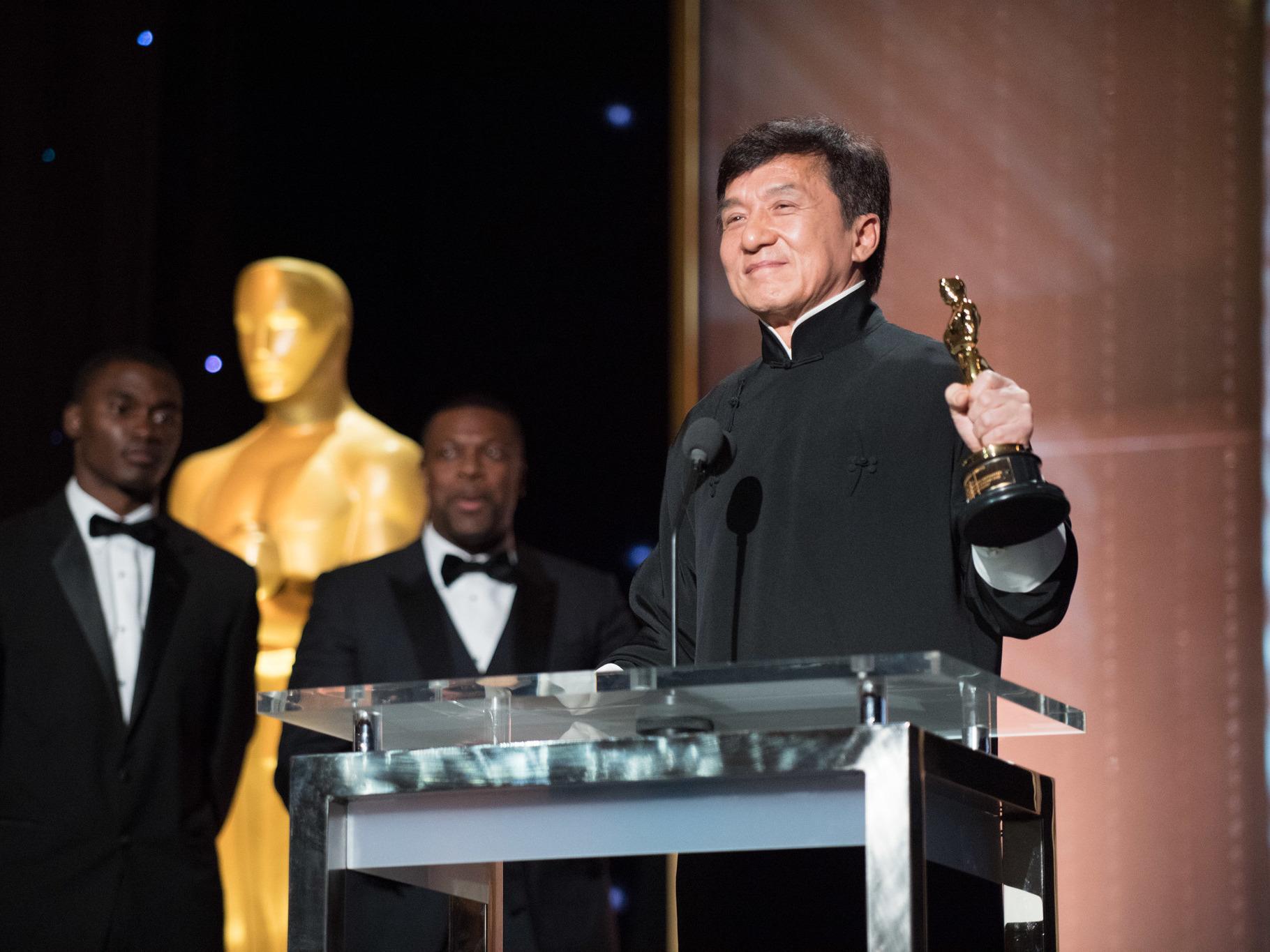 Jackie Chan, Annual Governor's award 2016, honorary oscar award